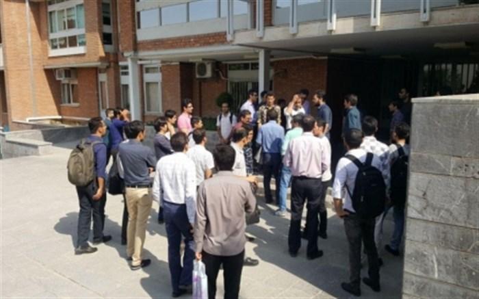اعتراض جمعی از دانشجویان به افزایش 100درصدی هزینه مازاد بر نقل و انتقال