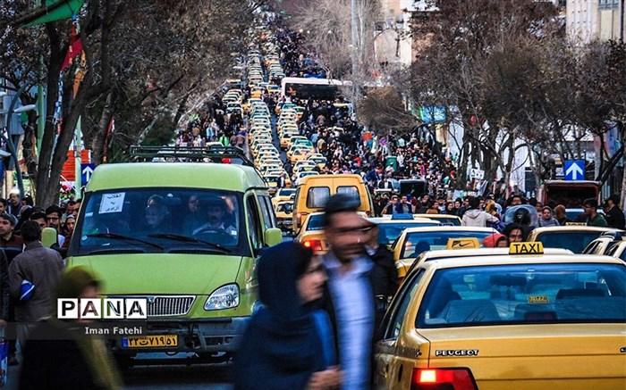 ترافیک های طاقت فرسای آخرین روزهای سال