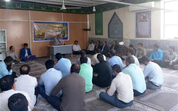 مراسم بزرگداشت سالروز آزاد سازی خرمشهر در میناب برگزار شد
