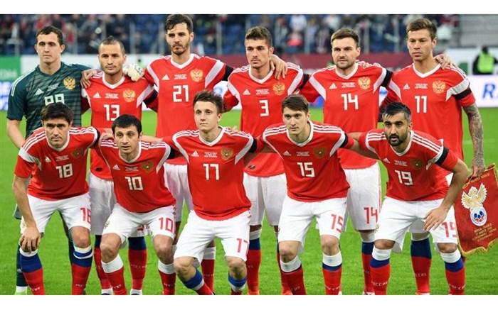 تیم ملی فوتبال روسیه 2018