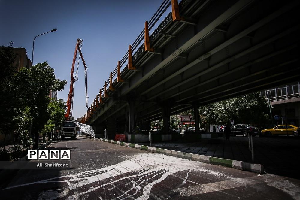 بازسازی پل کریمخان زند در تهران