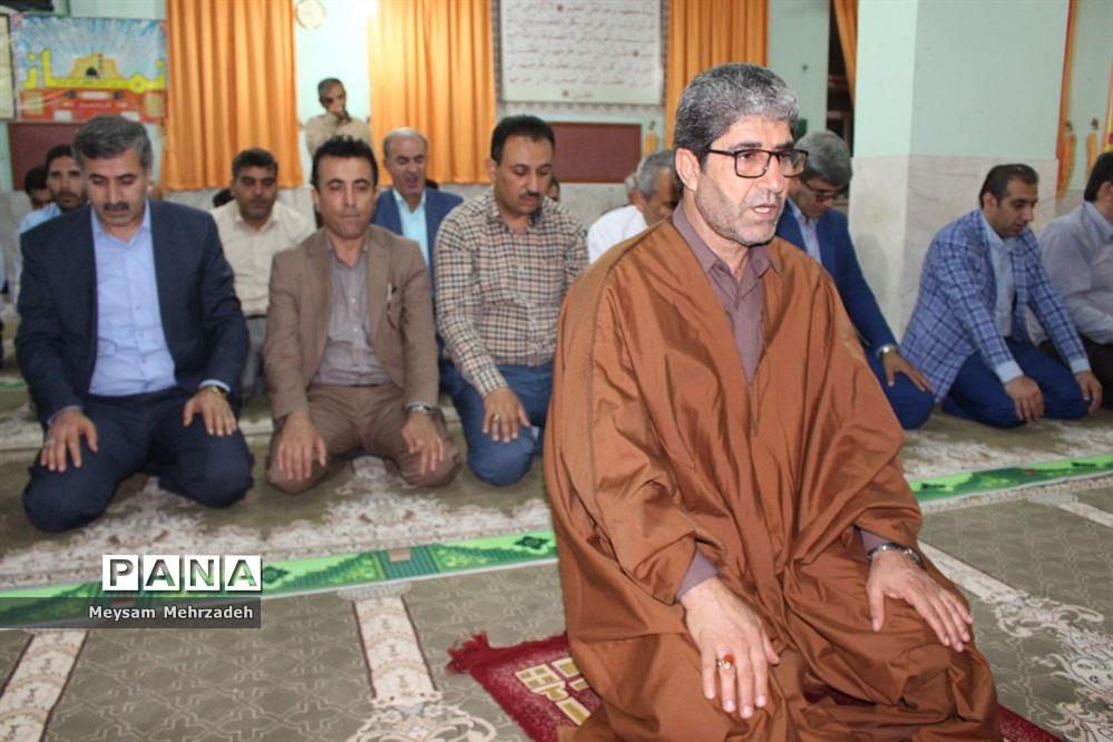 آوای نور با زیارت عاشورا در اداره کل آموزش و پرورش استان بوشهر