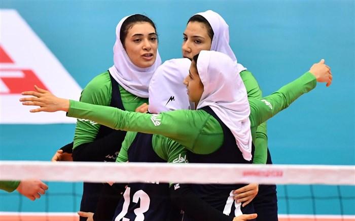 تیم ملی والیبال دختران جوان ایران 2018