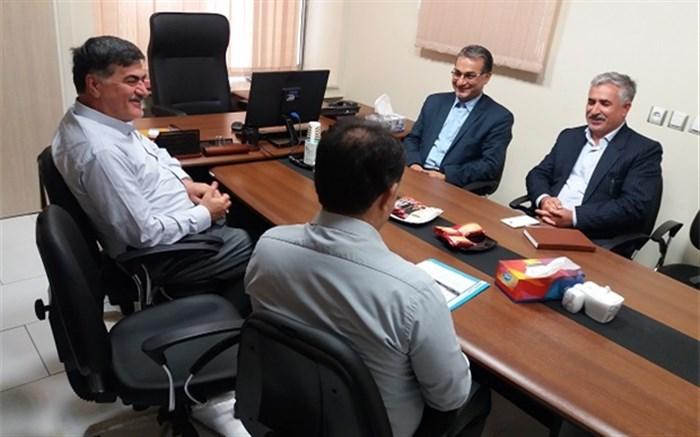 جلسه هماهنگی اداره کل آموزش و پرورش و بیمه آتیه سازان برگزار شد