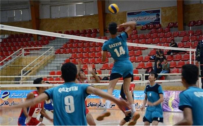مسابقات والیبال نوجوانان کردستان گرامیداشت 5400 شهید استان در سقز برگزار می شود