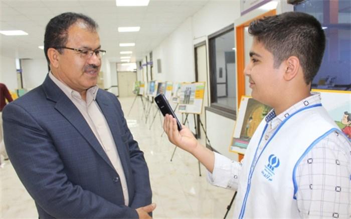 نمایشگاه سیار پیشگیری از آسیب ها در اداره کل آموزش و پرورش استان بوشهر برگزار شد