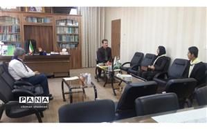 نشست مدیر کل آموزش و پرورش کردستان با نمایندگان  نهمین دوره مجلس دانش آموزی استان کردستان برگزار شد.