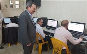 بازدید معاون آموزش متوسطه وزارت آموزش وپرورش از آزمون انتخاب و انتصاب مدیران