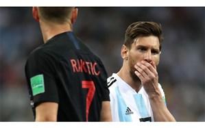 جام جهانی 2018؛ کابوس حذف زودهنگام به آرژانتین نزدیک شد