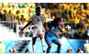جام جهانی 2018؛ برزیل مُرد تا بُرد