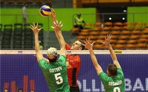 لیگ ملتهای والیبال؛ حذف بلغارستان در ماراتن تهران
