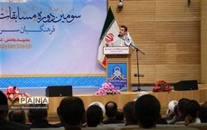 شرکت ۵۰۰ هزار نفر فرهنگی در سومین مسابقات قرآن عترت و نماز فرهنگیان کشور