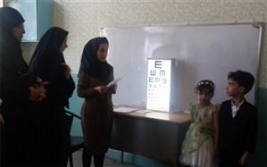 بازدید معاون آموزش ابتدایی سیستان و بلوچستان از پایگاه های سنجش سلامت دانش آموزان بدو ورود به دبستان و نوآموزان پیش دبستانی