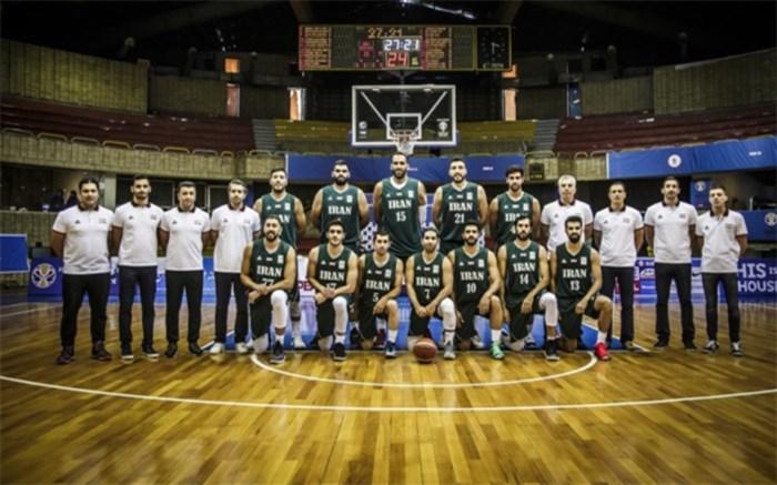 تیم ملی بسکتبال ایران 2018