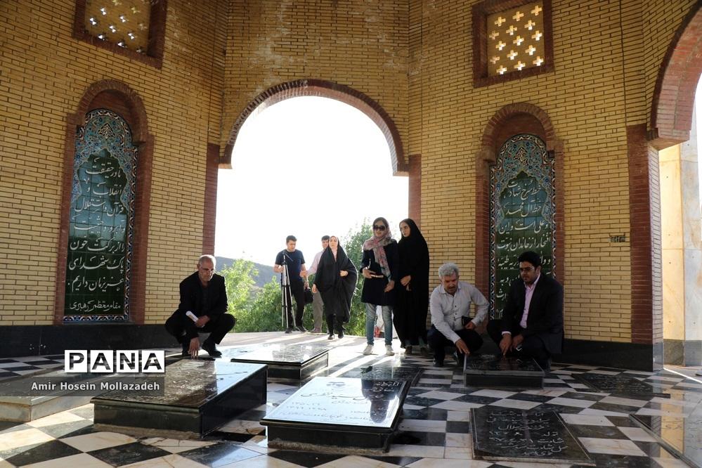 بازدید خبرنگاران از امامزادگان و بقاع متبرکه آذربایجان غربی