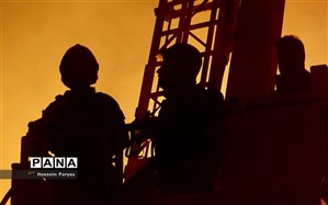 ۶۰ مصدوم در آتشسوزی مجتمع مسکونی شهرک راهآهن تهران